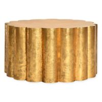 Safavieh Miram Coffee Table in Gold Foil