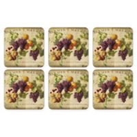 Pimpernel Abundant Fall Coasters (Set of 6)