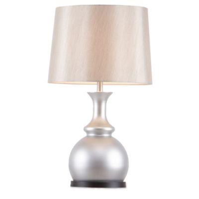 Olliix Madison Park Signature 29 Inch Arbor Table Lamp In Silver