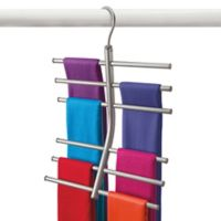 Lynk Hanging Tiered Accessory Organizer in Platinum