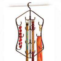 Lynk Hanging 14-Hook Accessory Hanger in Bronze