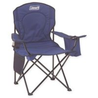 Coleman Oversized Quad Chair with Cooler in Blue