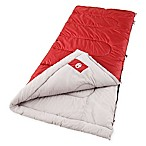 Coleman® Palmetto Sleeping Bag in Red