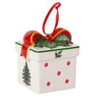 Spode® Christmas Tree LED Gift Box Ornament