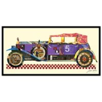 Alex Zeng Antique Automobile #2 Collage Wall Art