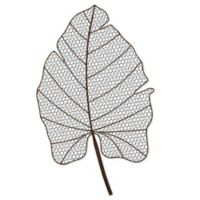 Wire Palm Frond Wall Art with Aged Iron Finish