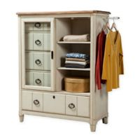 Panama Jack Millbrook Sliding Door Chest in White