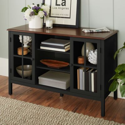 Chatham House Baldwin 2 Door Accent Cabinet In Black