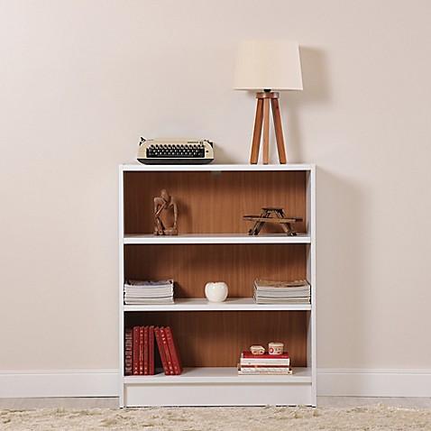 buy manhattan comfort greenwich 3 shelf grande bookcase in. Black Bedroom Furniture Sets. Home Design Ideas