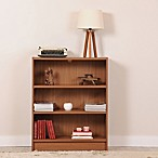 Manhattan Comfort Greenwich 3-Shelf Grande Bookcase in Maple Cream