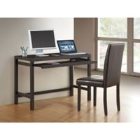Modern Desk Set in Wenge