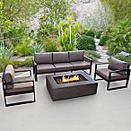 Real Flame® Baltic Sofa in Black
