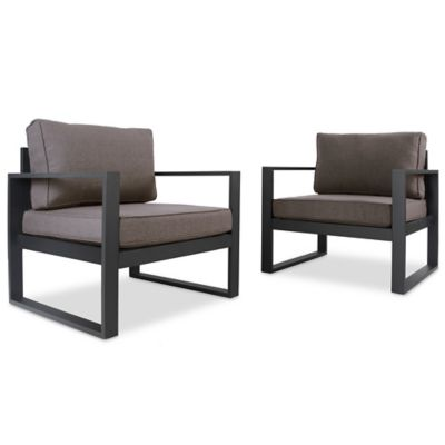Real Flame® Baltic Casual Chairs (Set of 2)  sc 1 st  Bed Bath u0026 Beyond & Buy Casual Chairs | Bed Bath u0026 Beyond