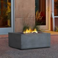 Real Flame® Baltic Square Natural Gas Fire Table in Gray