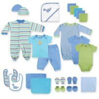 Baby Vision® Luvable Friends® 24-Piece Deluxe Gift Cube in Blue