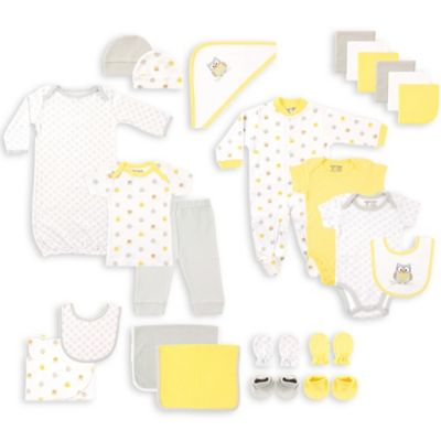 Buy owl themed baby gifts from bed bath beyond babyvision luvable friends size 0 6m 24 piece owl deluxe gift cube negle Images