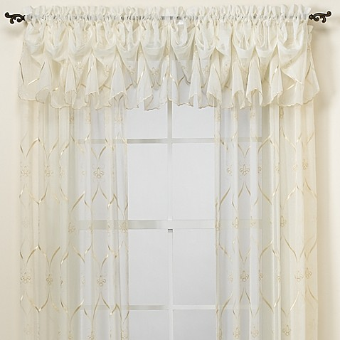 Croscill 174 Cavalier Sheer Window Curtain Panel Bed Bath