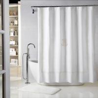 Wamsutta® Baratta 72-Inch x 72-Inch Personalized Shower Curtain in White/Ivory