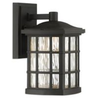 Quoizel Stonington 10.5-Inch 1-Light LED Outdoor Lantern in Mystic Black
