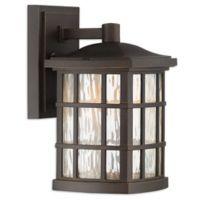 Quoizel Stonington 10.5-Inch 1-Light LED Outdoor Lantern in Palladian Bronze