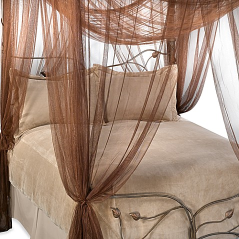 Majesty Bed Canopy in Coco Brown & Majesty Bed Canopy in Coco Brown - Bed Bath u0026 Beyond