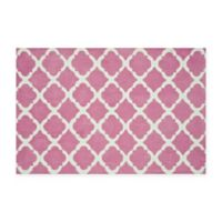 Loloi Rugs Piper 5-Foot x 7-Foot Area Rug in Bubble Gum Pink