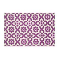 Loloi Rugs Piper 2-Foot x 3-Foot Accent Rug in Plum Fairies