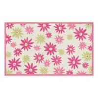 Loloi Rugs Piper 3-Foot x 5-Foot Area Rug in Pink/Green