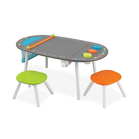 Kidkraft 174 Art Table With Two Stools Bed Bath Amp Beyond