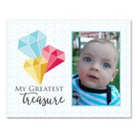 "14-Inch x 11-Inch Children's ""My Greatest Treasure"" Gems Canvas Wall Art"