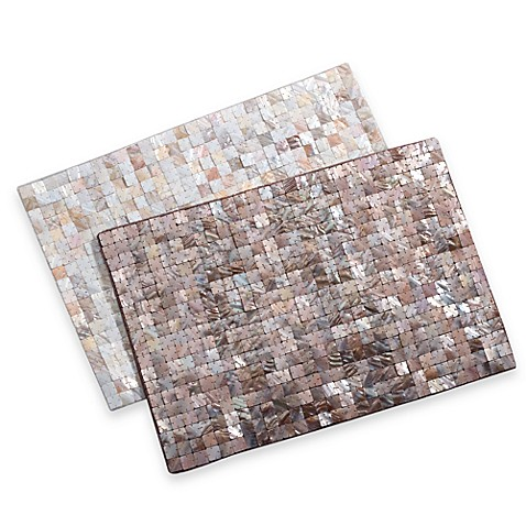 Mother Of Pearl Placemat Bed Bath Amp Beyond