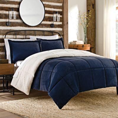 buy navy blue twin comforter from bed bath beyond. Black Bedroom Furniture Sets. Home Design Ideas