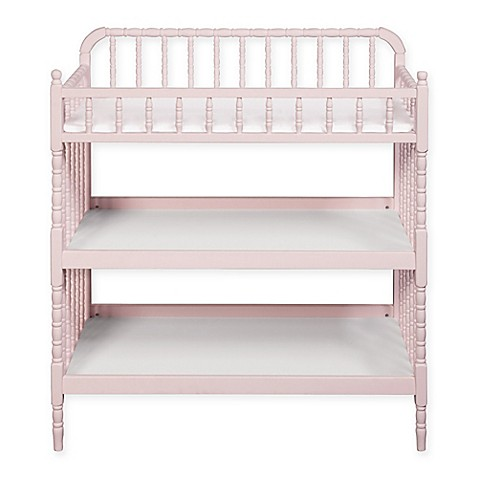 Davinci Jenny Lind Changing Table In Blush Pink Bed Bath