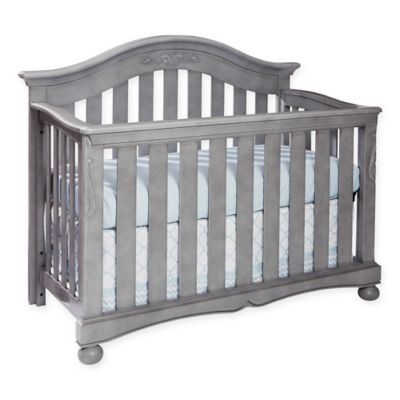 Convertible Cribs U003e Westwood Design Meadowdale Wood 4 In 1 Convertible Crib  In Cloud