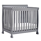 DaVinci Kalani 2-in1 Convertible Mini Crib in Grey