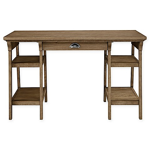 Stone Leigh By Stanley Furniture Driftwood Park Desk In Sunflower Seed Buybuy Baby