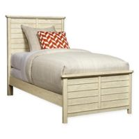 Stone & Leigh by Stanley Furniture Driftwood Park Twin Panel Bed in Vanilla Oak