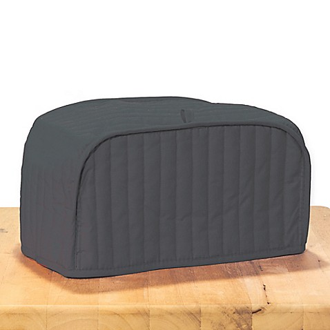 Ritz 174 Quilted 4 Slice Toaster Cover In Graphite Bed Bath