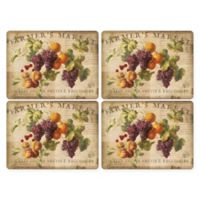 Pimpernel Abundant Fall Placemats (Set of 4)