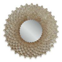 Bassett™ Chloe Wall Mirror in Pearl