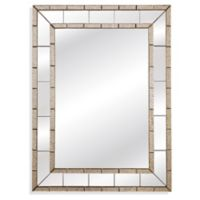 Bassett™ Caro Wall Mirror in Clear/Antique
