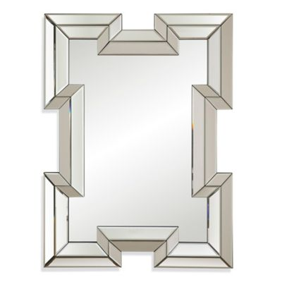 Geometric Wall Mirror buy geometric wall mirror from bed bath & beyond