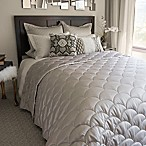 Nikki Chu LAYLA Reversible Brushed Velvet Down Alternative Full/Queen Blanket in Pewter