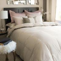 Nikki Chu ISRA White Goose Down Full/Queen Comforter in Clay