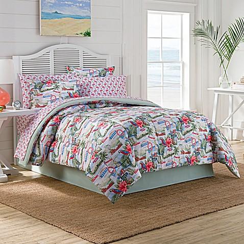 Tropical Vacation Comforter Set Bed Bath Amp Beyond
