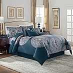 VCNY Imperial 7-Piece Queen Comforter Set in Teal