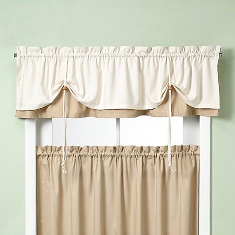 Farmhouse Kitchen Valance Curtains