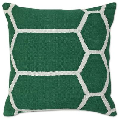 buy dark green throw pillow from bed bath beyond. Black Bedroom Furniture Sets. Home Design Ideas