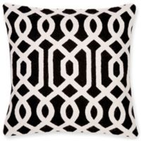 Aura Gate 20-Inch Square Throw Pillow in Black