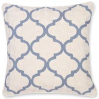 Aura Gopura Hand 20-Inch Square Throw Pillow in Grey